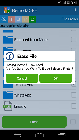 How to Shred Files on Android - Erase Files